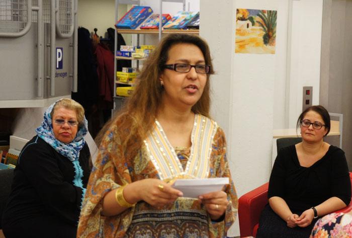 Zina Boughrara spricht über die Gesellschaft in Tunesien